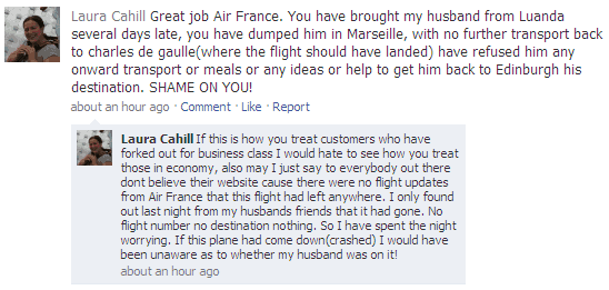 How to use social media during a crisis - Air France