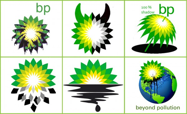Transparency in a social media age - BP rebrand logo.