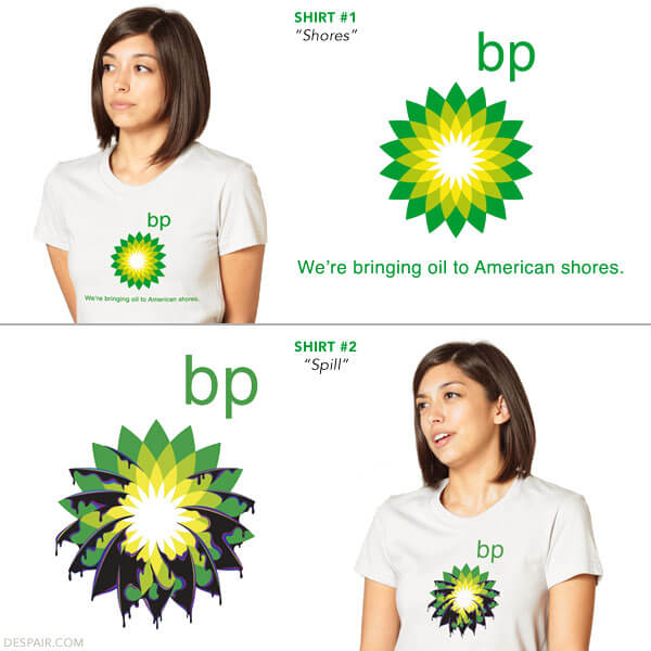 BP T-Shirts - We´re bringing oil to the American Shores