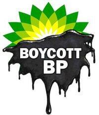 Boycott BP logo