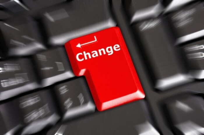 Driving and managing change will remain the number one priority