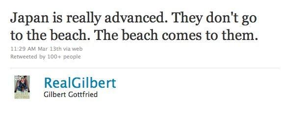 Gilbert Gottfried Twitter