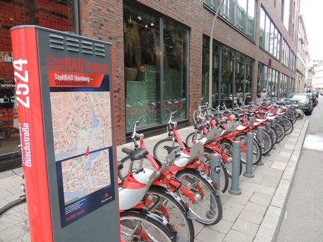 Collaborative consumption - Bike-sharing Hamburg