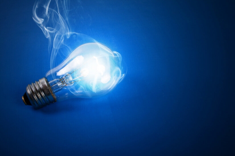 Major disruptive change - Electric bulb