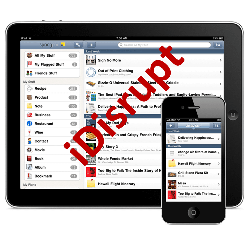 iDisrupt - Businesses disrupted by smartphones and tablet-PC