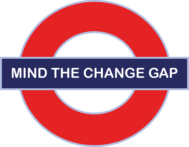 Mind the change gap - Constant change is the new normal
