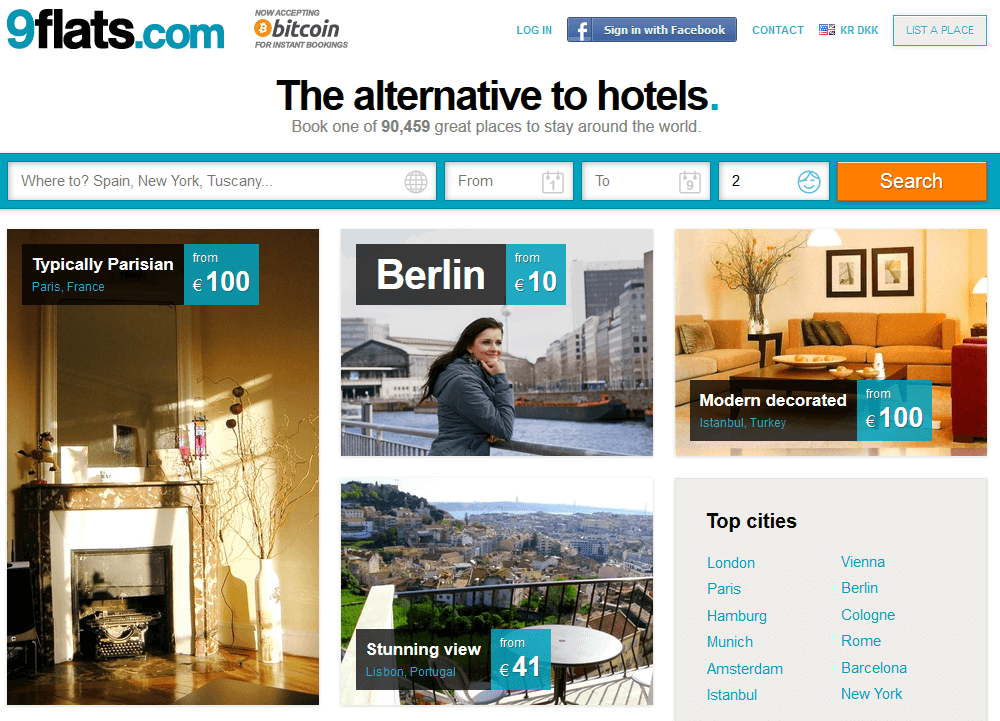 peer-to-peer hotels