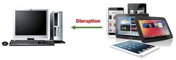Disruptive business - Bricks and mortar retail