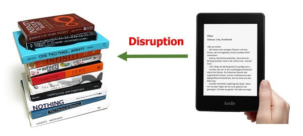 The giant digital disruption - Publishing