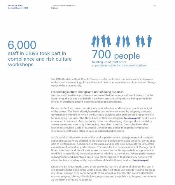 Forced to make transformational change - Deutsche Bank 2014 Part 2