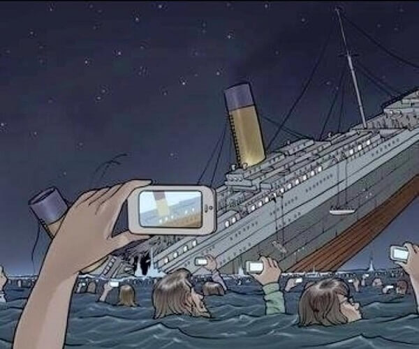 The relentless evolution of technology - If the Titanic sank today