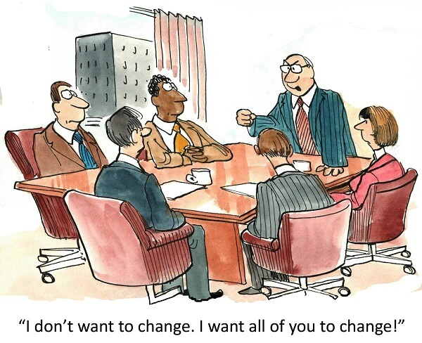 Change management requires leadership clarity and alignment