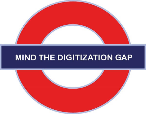 Mind the digitization gap - Digitization and digital transformation