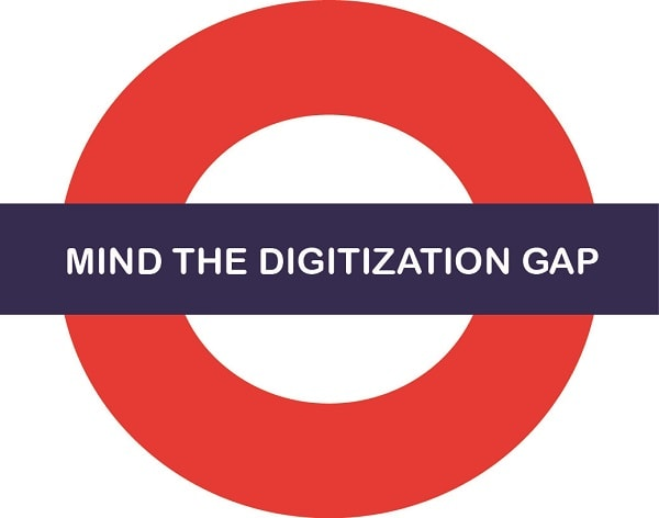 Disrupted by the on demand economy - Mind the digitization gap