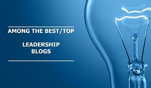 Among the best/top leadership blogs on the web