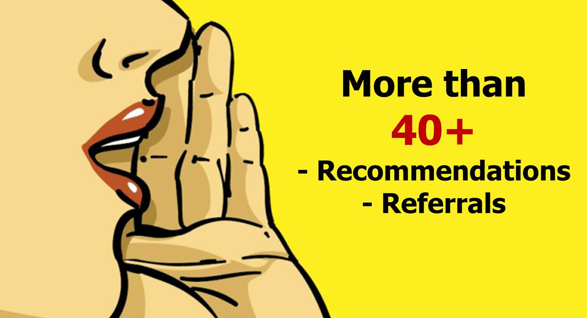 Recommendations – Referrals - Torben Rick